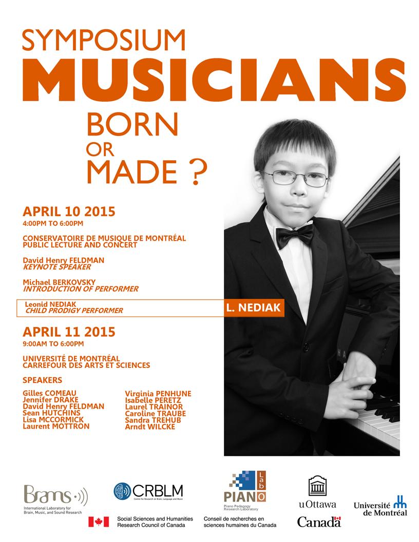 Musicians Born or Made Symposium 2015